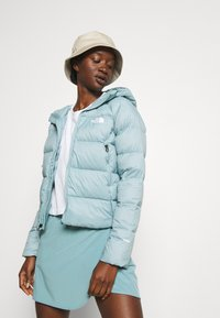 The North Face - HOOD - Down jacket - tourmaline blue - 3