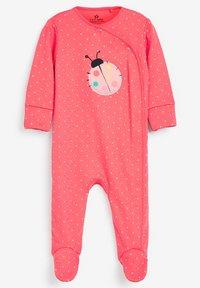 Next - 3 PACK LADYBIRD STRIPE - Sleep suit - pink - 1