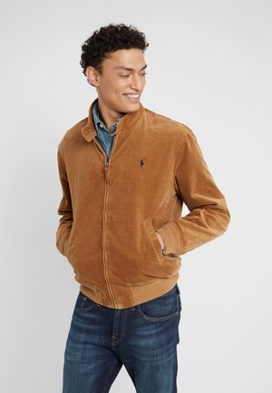Bomber Jacket - rustic tan
