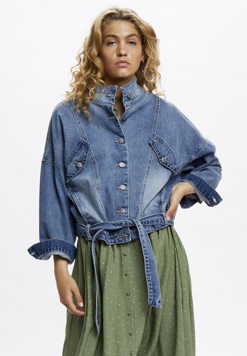 Denim Hunter - Denim jacket - light blue retro wash