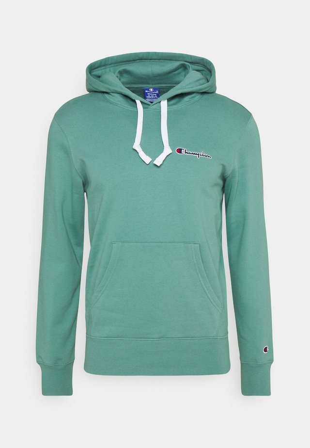 ROCHESTER HOODED  - Sweat à capuche - turquoise