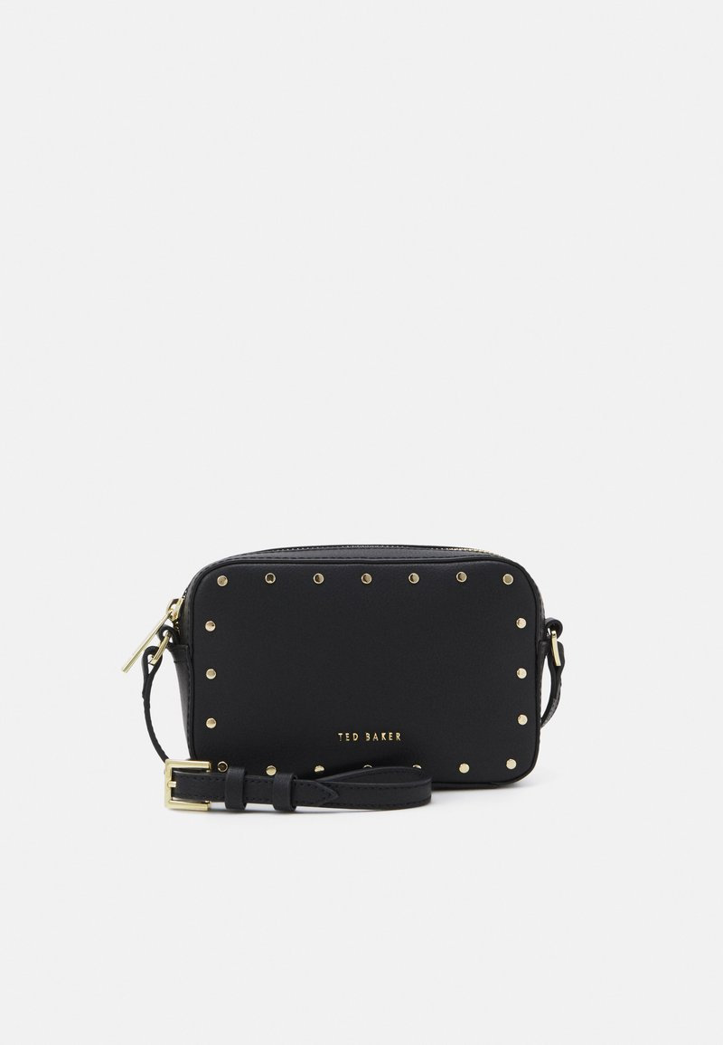 Ted Baker - KARSYNN STUDDED CAMERA BAG - Across body bag - black