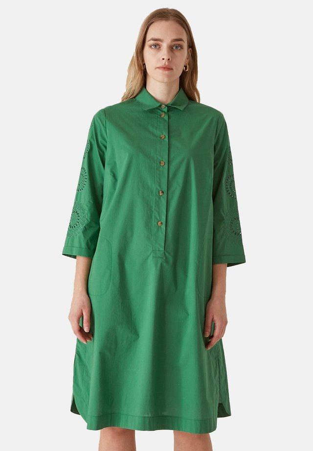 Abito a camicia - verde