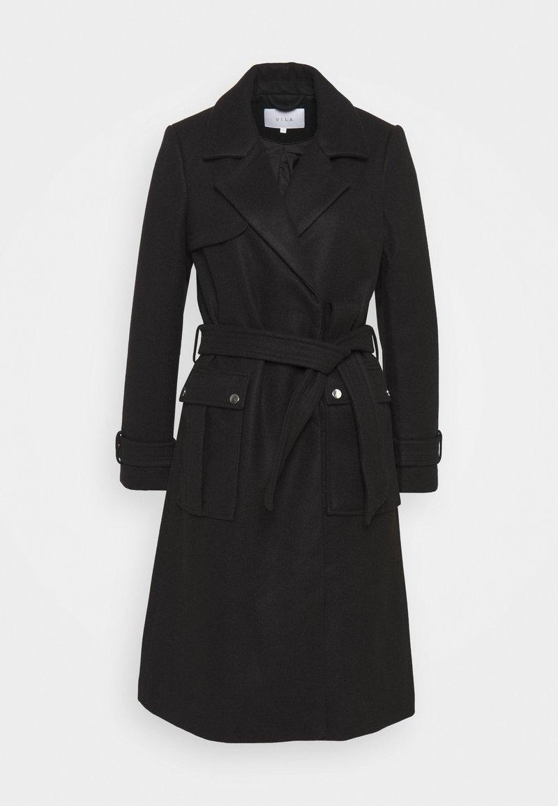 Vila - VILYCI RACHEL POCKET JACKET - Classic coat - black