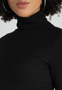 New Look - ROLL NECK - Long sleeved top - black - 5