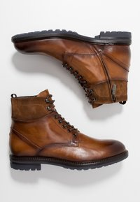 Giorgio 1958 - Lace-up ankle boots - cognac - 1