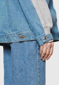 adidas Originals - JACKET - Veste en jean - medium grey heather - 4