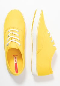 s.Oliver - LACE-UP - Tenisky - yellow - 3