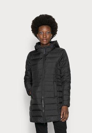 LIGHT WEIGHT PUFFER COAT - Winter coat - deep black