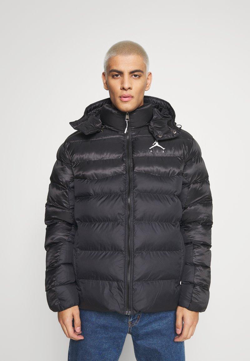 Jordan - JUMPMAN AIR PUFFER - Winter jacket - black/white