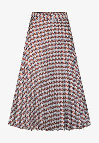 ORSAY - MIT MUSTER - A-line skirt - herbstrot - 3