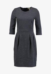 Esprit - JAQUARD DRESS - Shift dress - grey/blue - 5