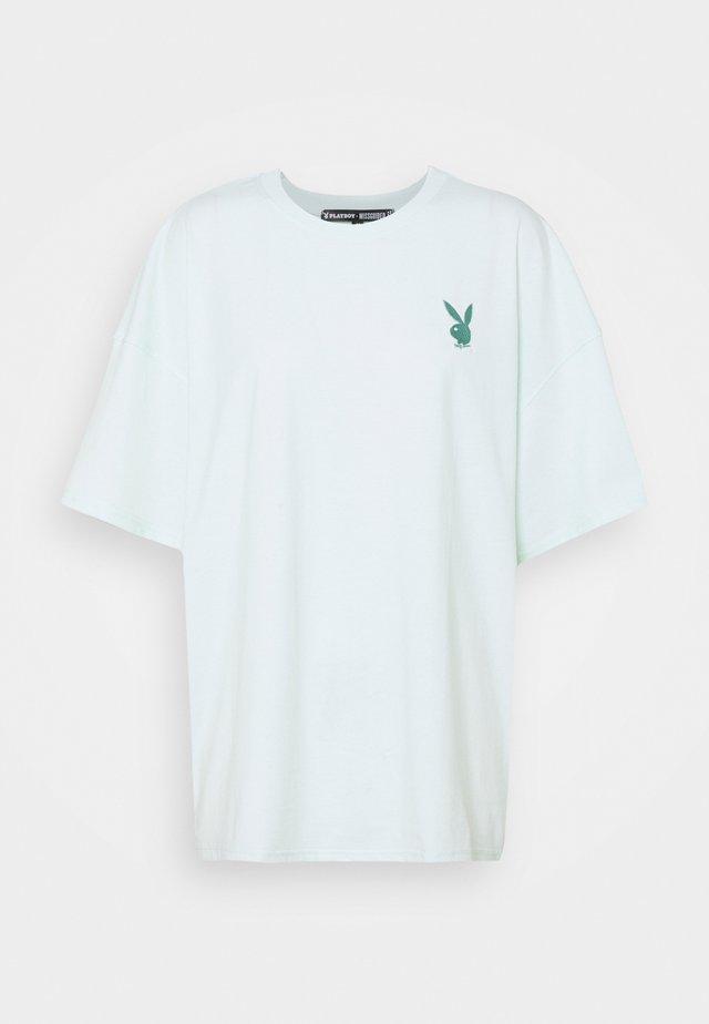 PLAYBOY LOGO DETAIL - T-shirt print - green