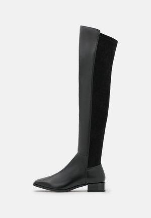 BIADIANA LONG BOOT - Høye støvler - black