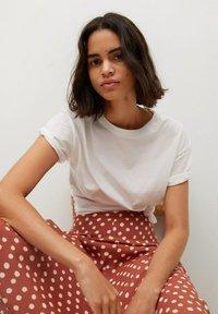 Mango - A-line skirt - braun - 4