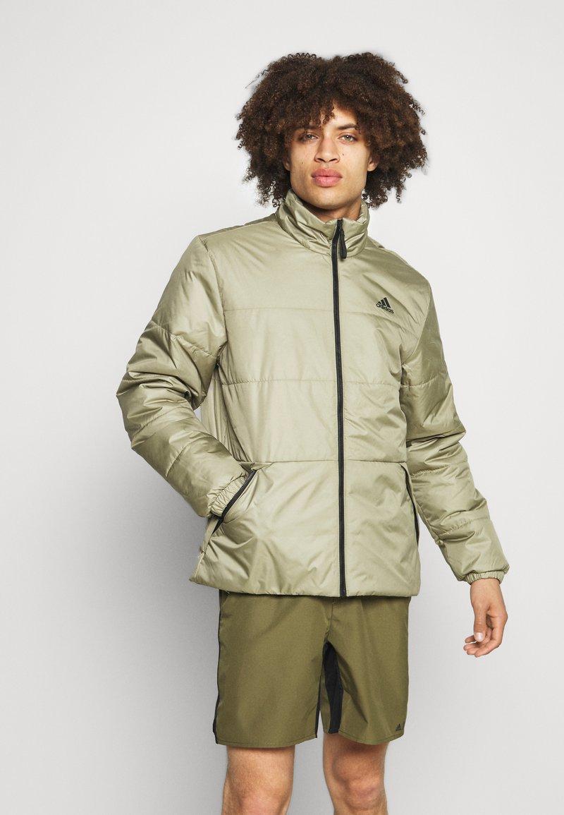 adidas Performance - BASIC 3 STRIPES INSULATED - Winter jacket - orbit green
