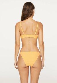 OYSHO - GINGHAM CLASSIC - Bikiniunderdel - yellow - 2