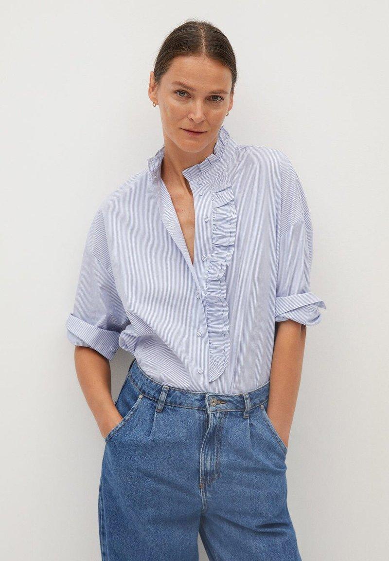 Mango - ANTONIETA - Skjortebluser - blau