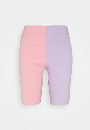 COLOUR BLOCK CYCLING - Shorts - pink