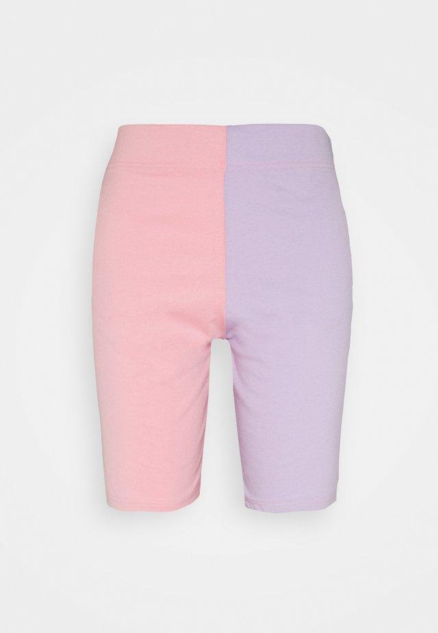 COLOUR BLOCK CYCLING - Shorts - pink