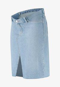 Topshop Maternity - MIDI - Pencil skirt - light-blue denim - 3