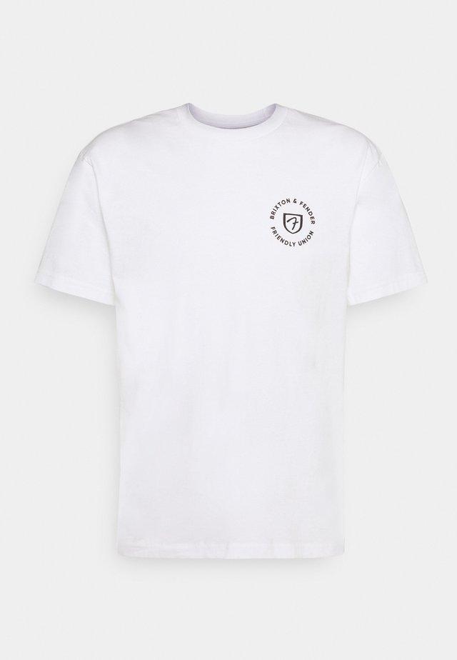 FENDER HIGHWAY - T-shirt con stampa - off white