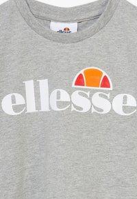 Ellesse - NICKY - T-shirt print - grey marl - 4