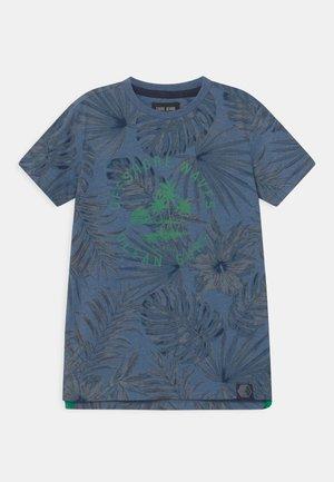 LEANY - Print T-shirt - navy