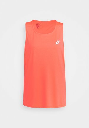 SINGLET - T-shirt sportiva - flash coral