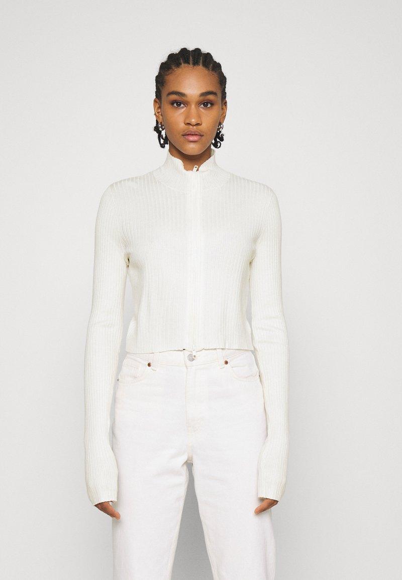 Monki - Cardigan - white light