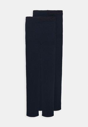 60 DENIER 2 PACK - Strømpebukser - black iris