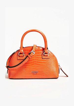 SAC A MAIN SHILAH CROCO - Handbag - orange
