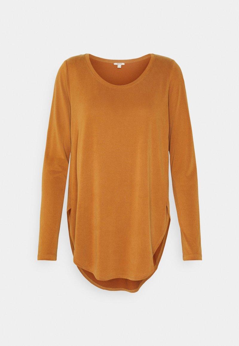 Esprit - Long sleeved top - rust brown