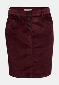 Esprit - PENCIL SKIRT - Pencil skirt - bordeaux red - 6