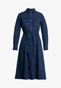 Monki - WAY DRESS - Jeanskjole / cowboykjoler - dark blue - 5