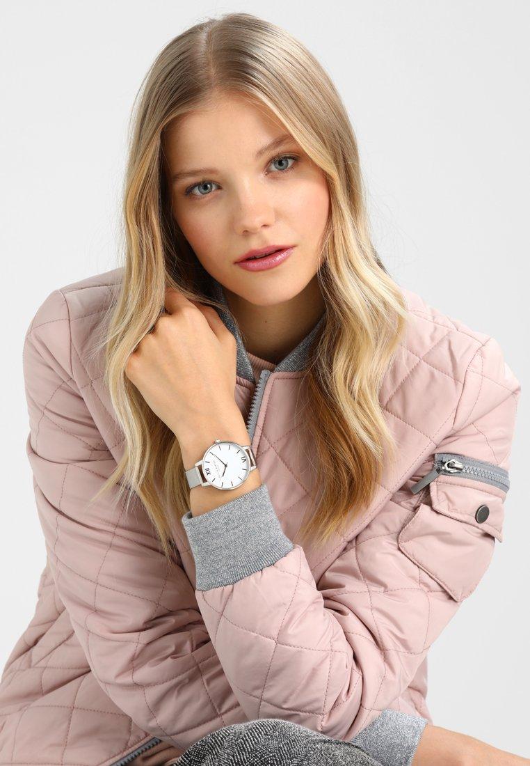 Olivia Burton - DIAL BIG DIAL - Rannekello - silver-coloured