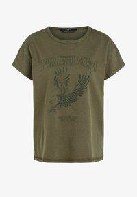 SET - ICON - Print T-shirt - ivy green - 4