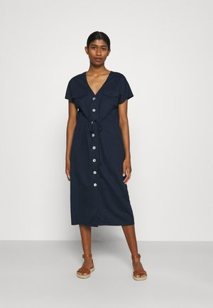 VMINAMARIA WIDE CALF DRESS - Žerzejové šaty - navy blazer