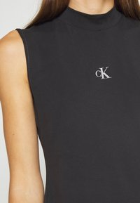 Calvin Klein Jeans - SLEEVELESS MOCK NECK - Top - ck black - 5