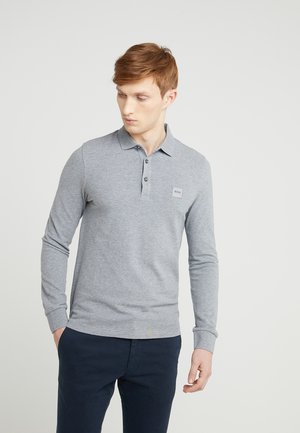PASSERBY - Polo shirt - light/pastel grey