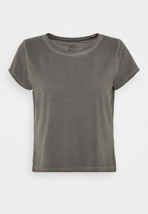 GARMENT DYE - Camiseta básica - anthracite