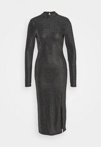 Glamorous Tall - OPEN BACK PARTY DRESS - Maxi-jurk - black - 0