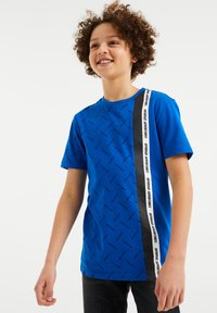 WE Fashion - Print T-shirt - bright blue - 1