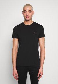 AllSaints - TONIC CREW 3 PACK - Basic T-shirt - optic/black/grey - 2