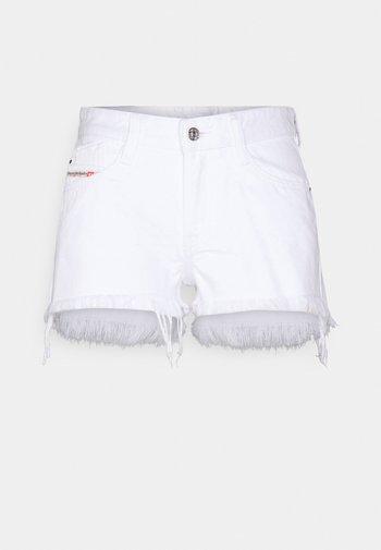 DE-RIFTY - Džínové kraťasy - denim white
