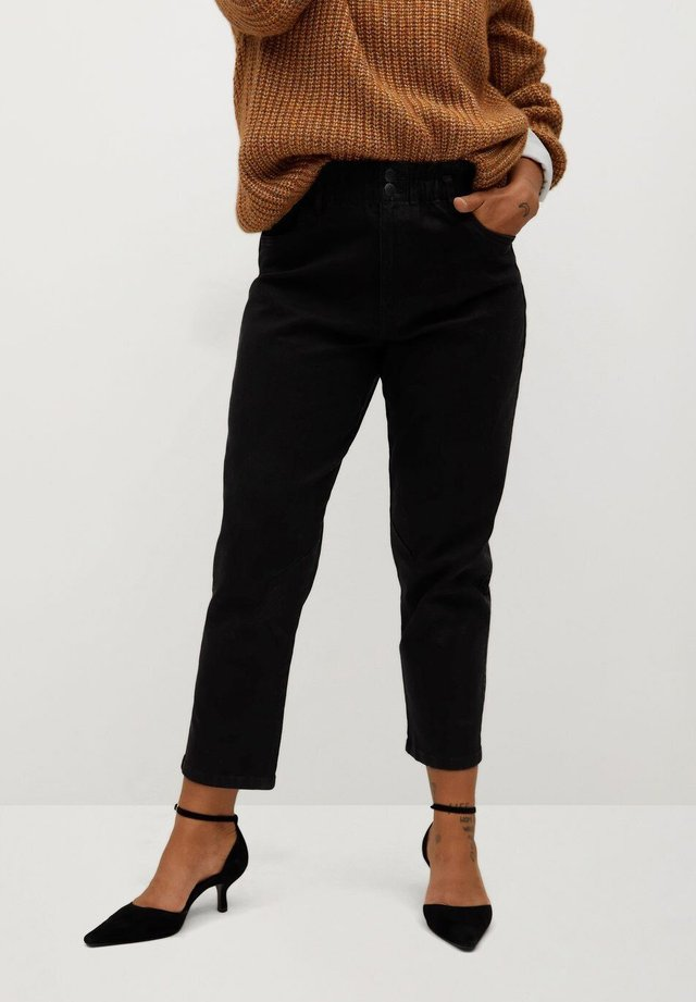 PAPERBAG - Relaxed fit jeans - black denim