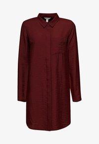 Esprit - IM STREIFEN-LOOK - Button-down blouse - garnet red - 6