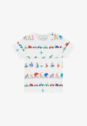 ARESKI - Camiseta estampada - white