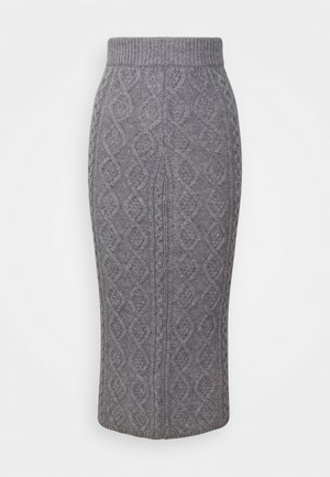 CABBIE SKIRT - Kynähame - grey