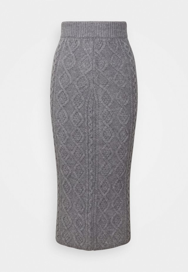 CABBIE SKIRT - Blyantnederdel / pencil skirts - grey